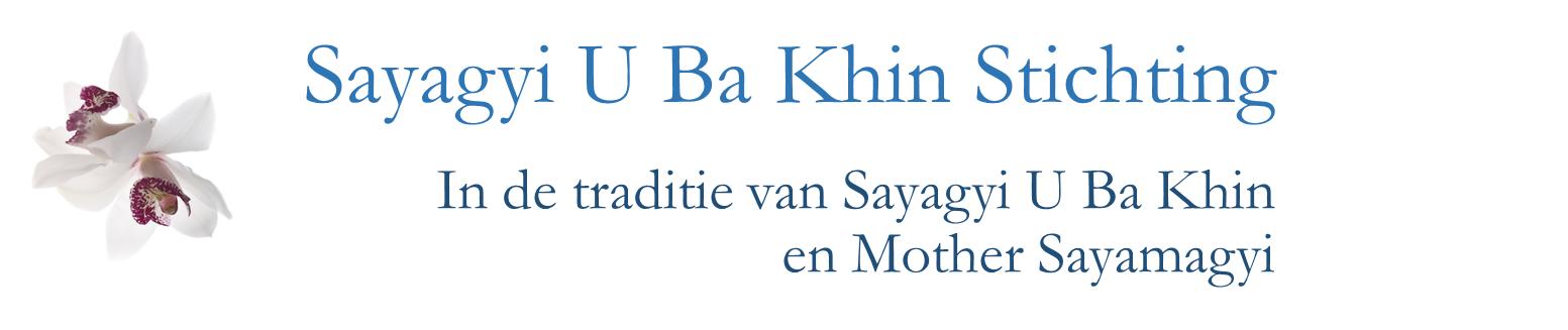 Sayagyi U Ba Khin Stichting