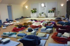 meditatie zaal in Een-West