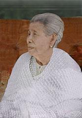 Mother Sayamagyi in 2016